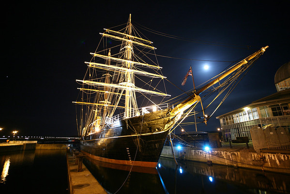 The RRS Discovery, in Dundee.